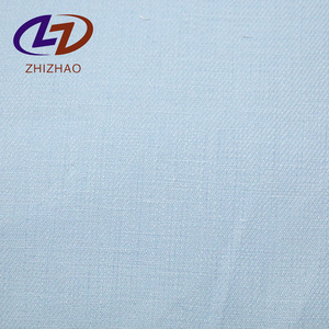 Wholesale cheap soft natural Pure flax linen fabric with woven for clothes