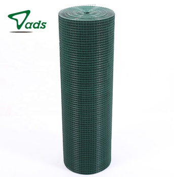 PVC 6x6 10/10 powder coated welded wire mesh