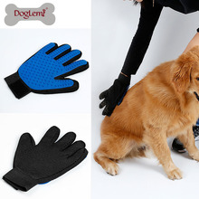 2017 Doglemi Best Selling Pet Grooming Tool Shedding Brush Glove