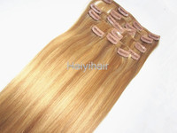 quality guaranteed clip in hair extensions for black women Afro kinky curly clip in hair extensions for african american