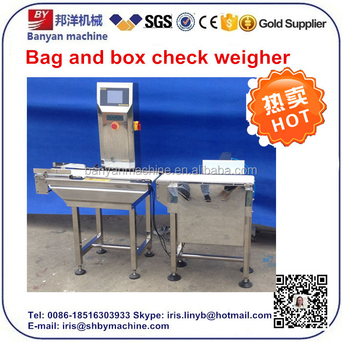 2016 High speed price digital conveyor belt check weigher with ce 0086-18516303933