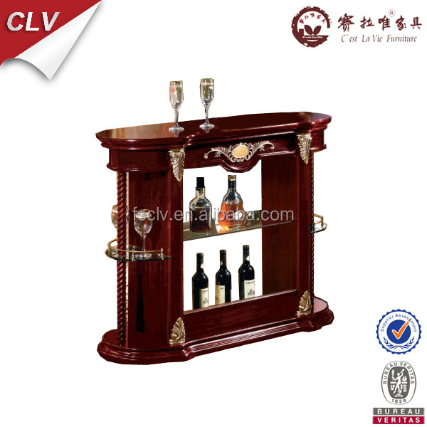 dining room furniture wood bar counter cabinet