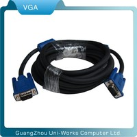 high quality 10m monitor 3+6 15pin VGA male to male cable