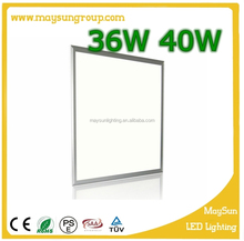 home/office use led panel light 36/40w led 600x600 ceiling panel light 40w square panel lamp