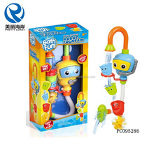 Newest baby bath toys fountain cartoon toys diver water bath toy