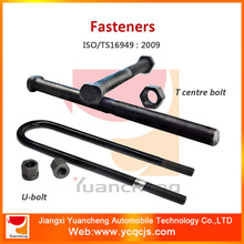 Professional Hardware Vehicle Fasteners Manufacturing U Bolt and Nuts