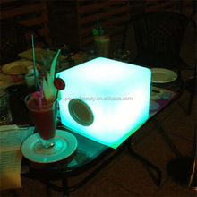 2014 new popular bluetooth led light speaker with remote control
