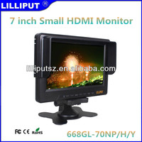 "7"" 16:9 LED-Backlit LCD HDMI Monitor With HD Component Video"
