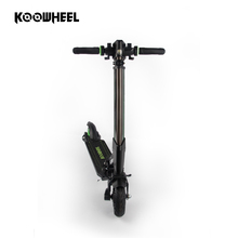 Koowheel portable foldable 2 wheel standing electric folding mobility scooter