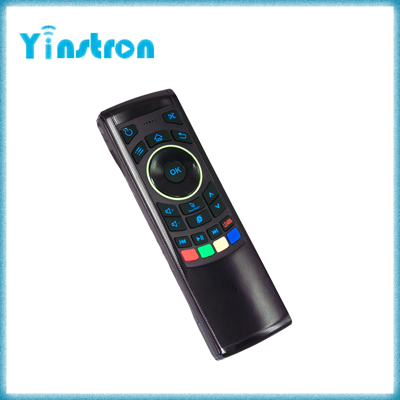 2016 Newest FM5s 2.4G Air Mouse Keyboard Wireless universal remote control for Andriod TV box