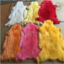 DYED BEAUTIFUL COLOR SHEEP SKINS