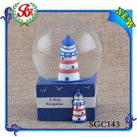 SGC143 Creative Fashionable Noble Resin Snow Globe, Human Snow Globe