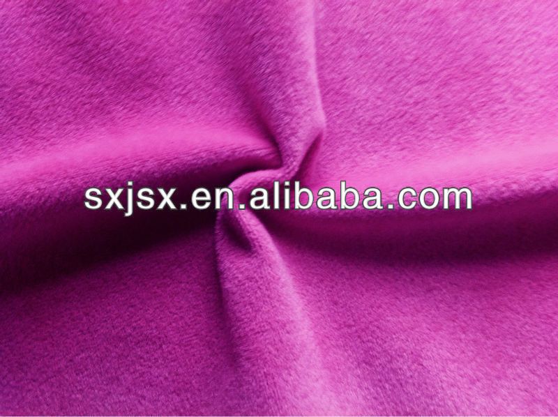 100% Polyester Fabric flannel/Double-sided velvet for supersoft velvet
