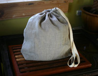 Linen Bread Bag