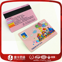 Magnetic strip rfid credit card with MIFARE Ultralight EV1 chip