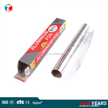Household food wrapping, aluminium foil paper