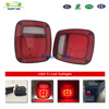 50W Hot products Red lens for Jeep Tj LED Tail Lights