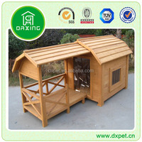 Luxury pet house with porch patio