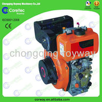 electric start 3000/1500rpm light weight small diesel engine