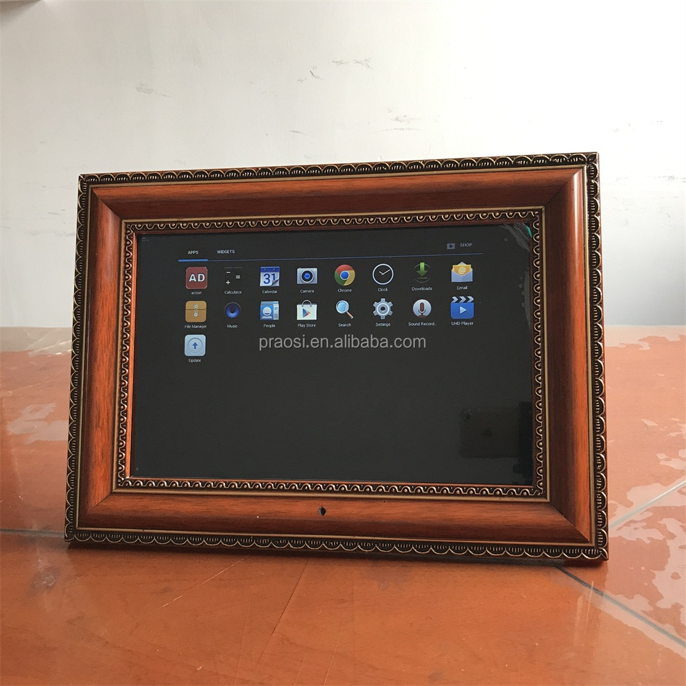 advertising digital photo frame with video player 12 inch newest and cheapest
