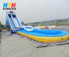 giant inflatable water park,inflatable aqua park slide