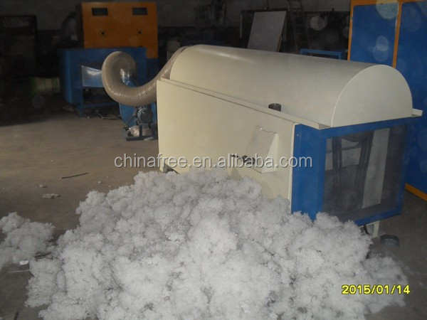 Good performance ball fiber forming machine/polyester fiber batting