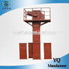 overhead shuttle dirt bucket conveyer safely with bed guard
