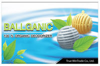 BALLGANIC (100% Organic and fragrance free deodorizer) - Shoes/ Shoe Cabinet