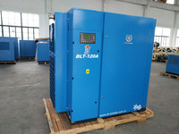 90kw 120hp screw rotary air compressor