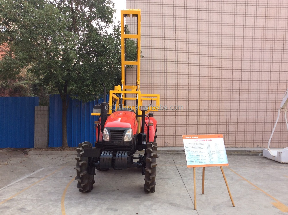 TW-100 Tractor Mounted Drilling Rig/mining core drilling machine