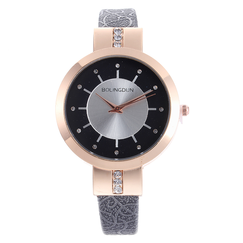 5116 Fashion Lady Thin Band Luxury Watch Women Casual Wristwatches color strap watches