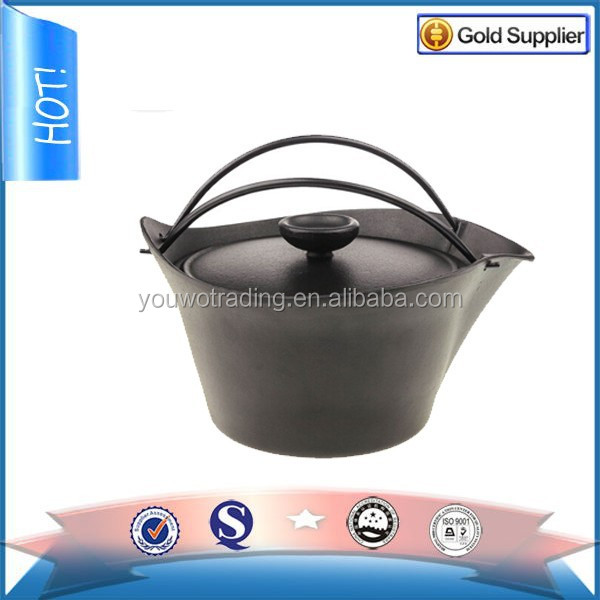 hot sell japanese cooking pot,casting iron cookware