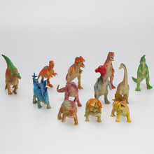 Custom made cartoon movies vinyl plastic dinosaur figures dinasour toys for kids