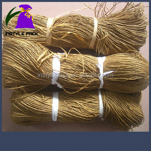 Made in China Colorful Raffia Paper String for Gift Packing