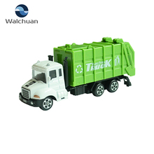 1:64 Scale Miniature Truck Model Metal Toy Truck And Trailer For Child Toy