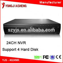 Best price dvr h264 cms free software 24ch nvr kit nvr 24ch made in china