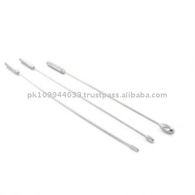 Single Rosebud Sound, Medical Toy, Urethral Sound