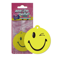 China High-Quality Hanging Emoji Paper Car Air Freshener With Long-Lasting Fragrance