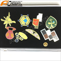 Pokemon Gym Badges Kanto Region League Pins Brooches 8pcs New in Box Collection Gift Pocket Monster