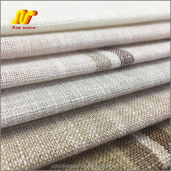China Supplier Yarn Dyed Striped Cushion Cover Fabric for Sale
