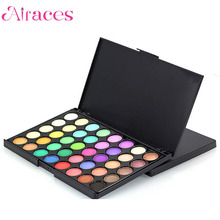 Free Sample Professional Salon 40 color Private Label Eyeshadow Palette Glitter Makeup Palette