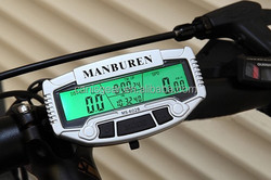 Mountain bike cycling speed meter electric bicycle computer