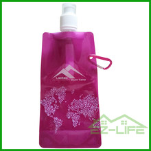 Custom personalized promotional BPA FREE plastic sport flexible water bottle