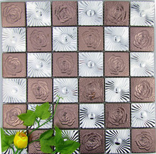 Good price of 3D stainless steel mosaic tile