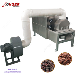 Cacao Bean Skin Husk Remover Roasted Cocoa Bean Peeling Machine