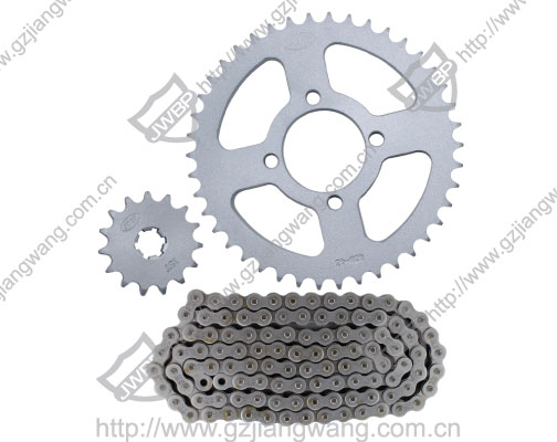 Stainless Steel Motorcycle Spare Parts Chain Sprocket Bajaj CT100/Bajaj Discover135