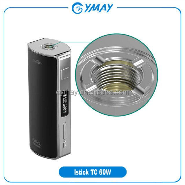 istick TC 60w, temperature control supporting both Nickel 200 and Titanium coils