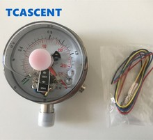 High quality stainless steel shock proof Electric Contact Pressure Gauge for lpg gas high pressure