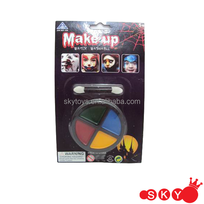 Waterproof Halloween Face Paint Scary Make Up Set