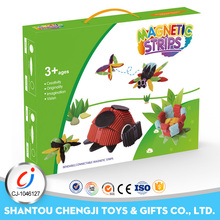 34 pcs fieixble magnetic plastic intelligent toys building blocks sy